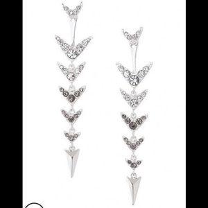 Stella & Dot - Arrow Drop Earrings